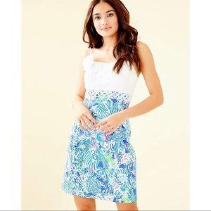 NWT! Lilly Pulitzer Liz Dress Coastal Blue